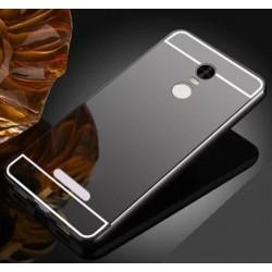 Zrcadlový kryt pro Lenovo K6 NOTE - Černý