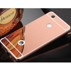 Zrcadlový kryt pro Huawei P9 Lite 2017 - Růžový