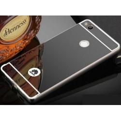 Zrcadlový kryt pro Huawei P9 Lite 2017 - Černý