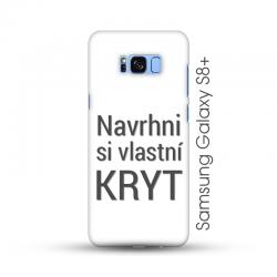 Samsung Galaxy S8 Plus pevný kryt s vlastním motivem Lesklý