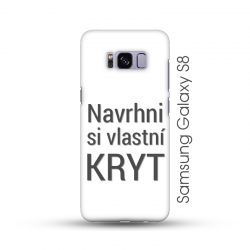 Samsung Galaxy S8 pevný kryt s vlastním motivem Lesklý