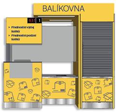 Česká pošta - Balík do balíkovny