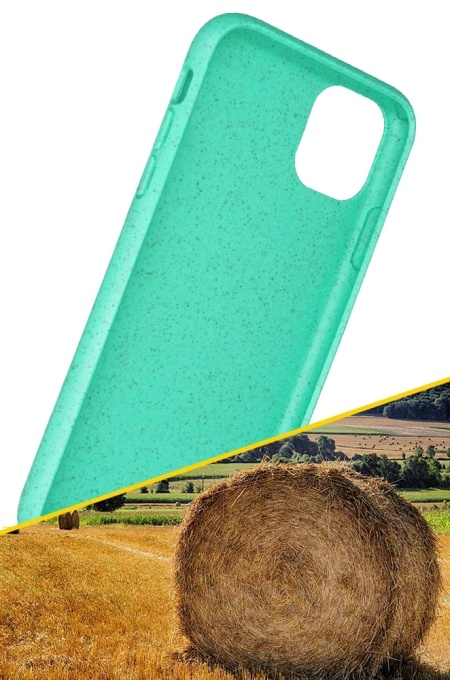 Obal z přírodních materiálů na Samsung Galaxy A40