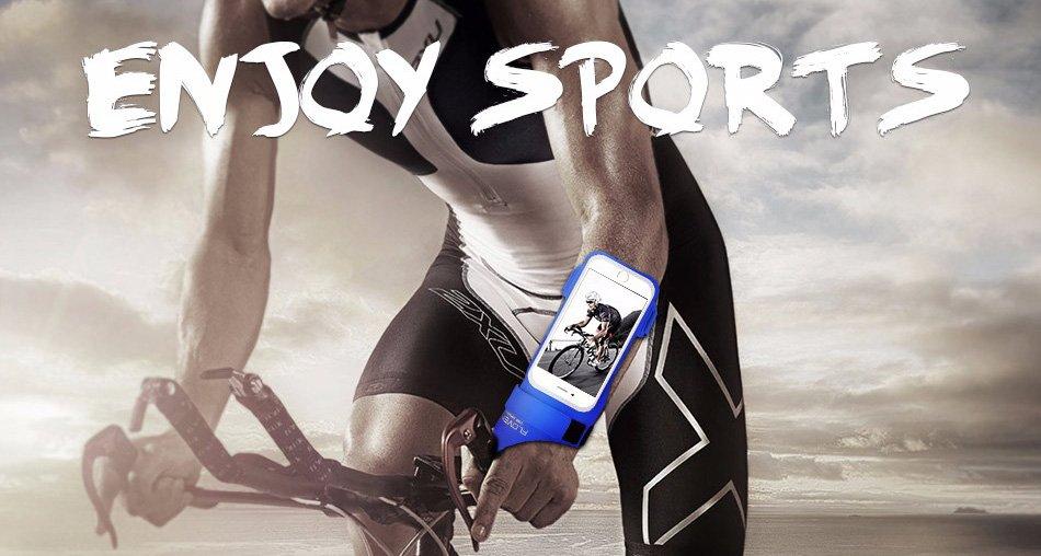 Sportovní pouzdro na ruku pro mobilní telefon