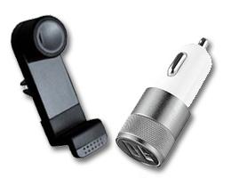 Držáky a příslušenství pro mobilní telefony do auta