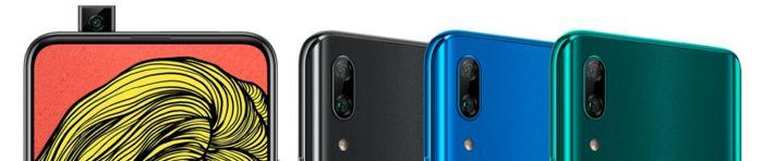 Huawei P Smart Z kryty na mobil
