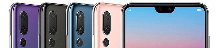 Huawei P20 Pro kryty na mobil
