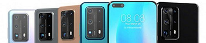 Huawei P40 Pro kryty na mobil