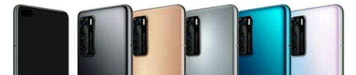 Huawei P40 kryty na mobil