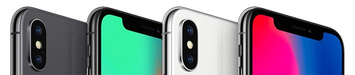 iPhone X kryty na mobil