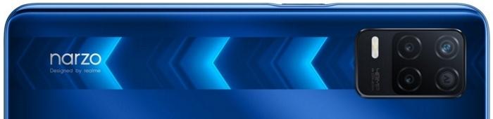 Realme Narzo 30 5G kryty na mobil