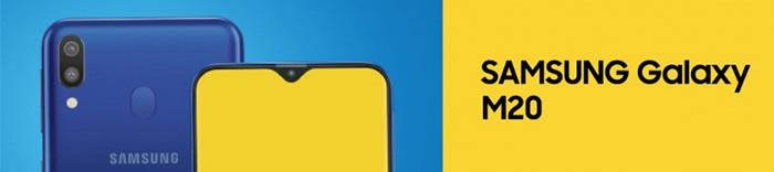 Samsung Galaxy M20 kryty na mobil