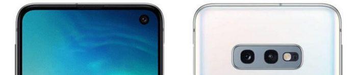 Samsung Galaxy S10e kryty na mobil