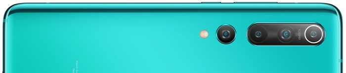 Xiaomi Mi 10 kryty na mobil