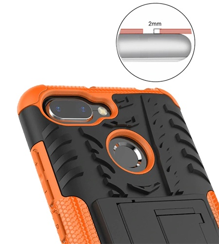 Odolný obal na mobil s ochranou zadního fotoaparátu