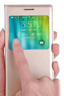 Snadné ovládání i v obalu pro Samsung