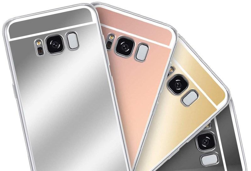 Zrcadlový TPU obal na Huawei P20 Lite