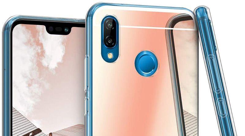 Zrcadlový obal na Huawei P20 Lite