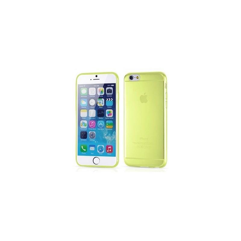 IPhone 6 silikonový obal-Žlutá