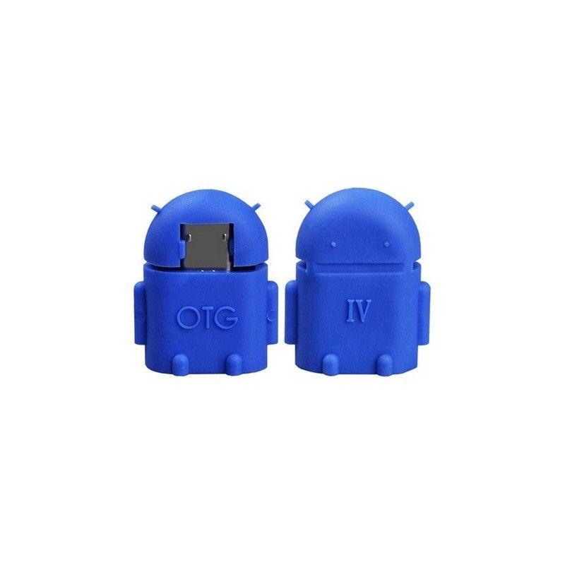 Micro OTG adaptér-Modrá
