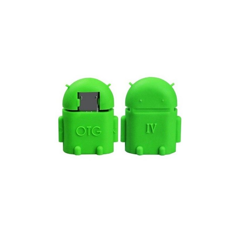 Micro OTG adaptér-Zelená