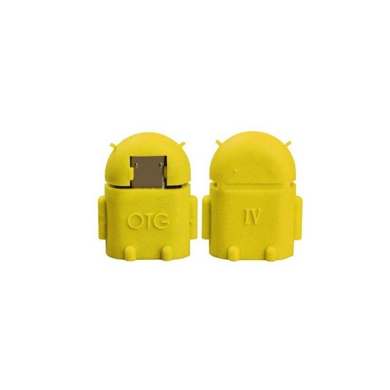 Micro OTG adaptér-Žlutá