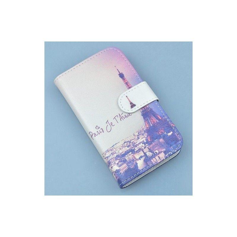 Huawei Ascend P8 Lite pouzdro s potiskem Paris