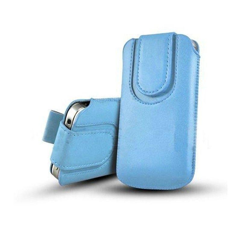 Obal kapsa s magnetickou klipsou - Pull Tab-Světle modrá
