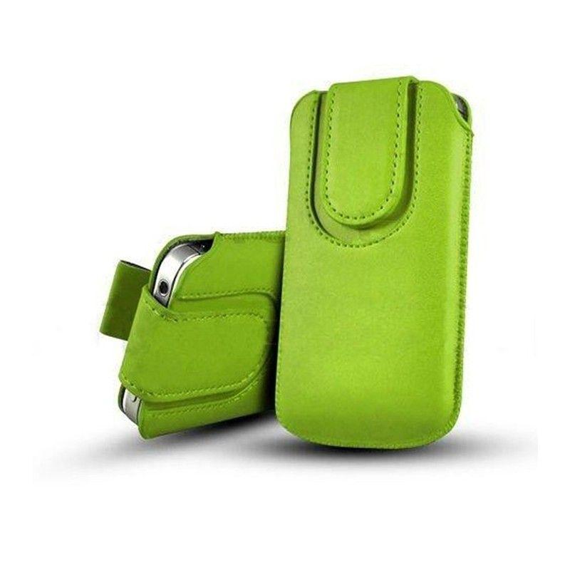Obal kapsa s magnetickou klipsou - Pull Tab, barva Zelená