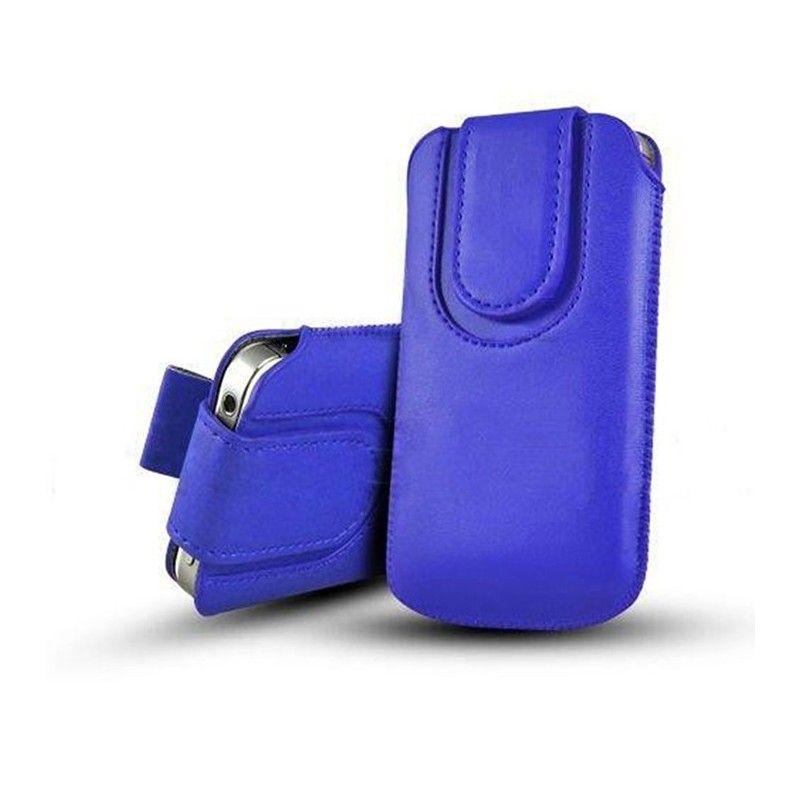 Obal kapsa s magnetickou klipsou - Pull Tab-Tmavě modrá