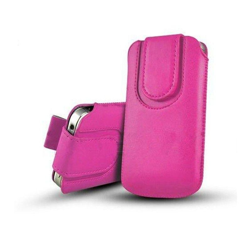 Obal kapsa s magnetickou klipsou - Pull Tab-Tmavě růžová