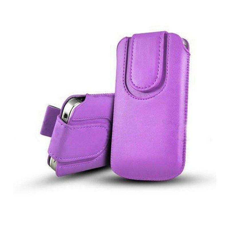 Obal kapsa s magnetickou klipsou - Pull Tab-Světle fialová