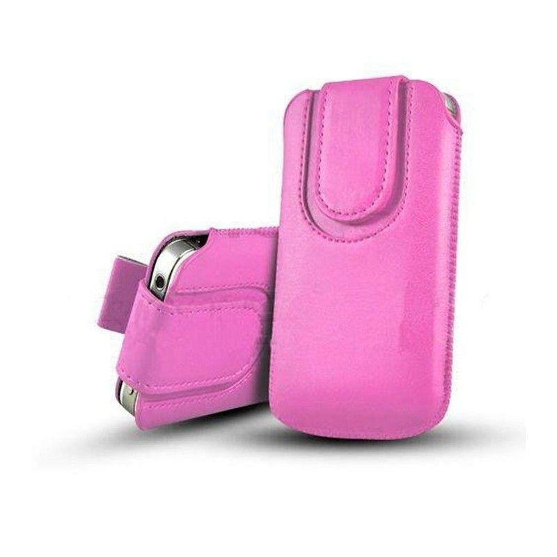 Obal kapsa s magnetickou klipsou - Pull Tab-Světle růžová