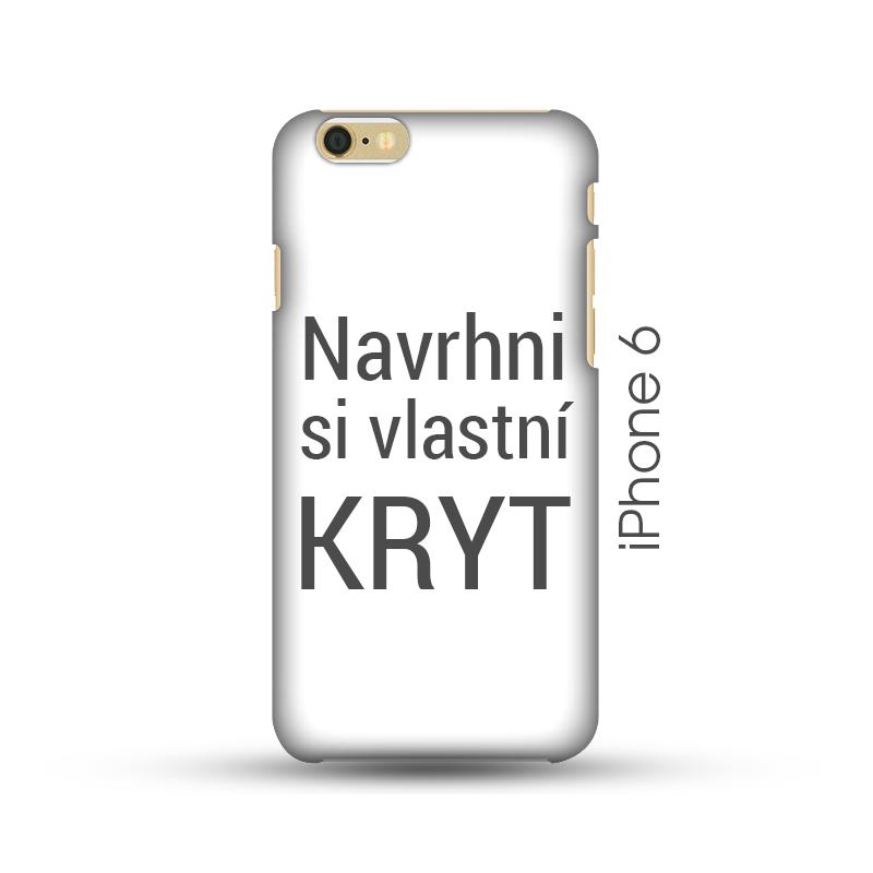 iPhone 6/6S pevný kryt s vlastním designem Lesklý