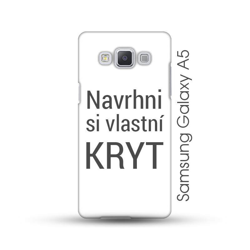 Samsung Galaxy A5 pevný kryt s vlastním motivem Lesklý