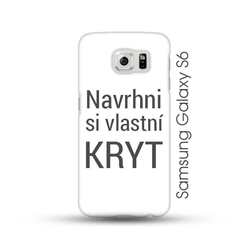 Samsung Galaxy S6 pevný kryt s vlastním motivem Lesklý