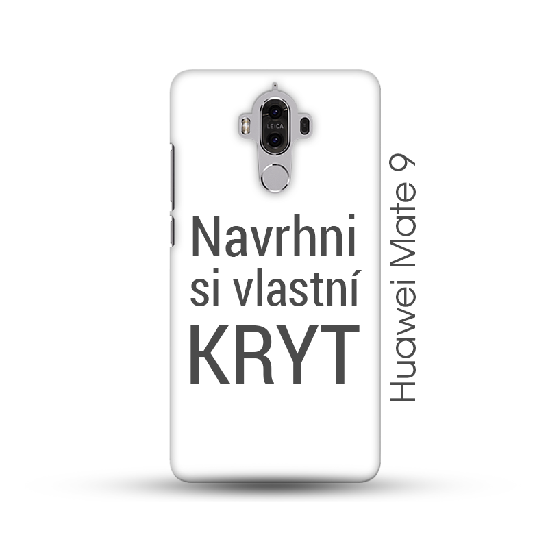 Huawei Mate 9 pevný kryt s vlastním motivem Matný