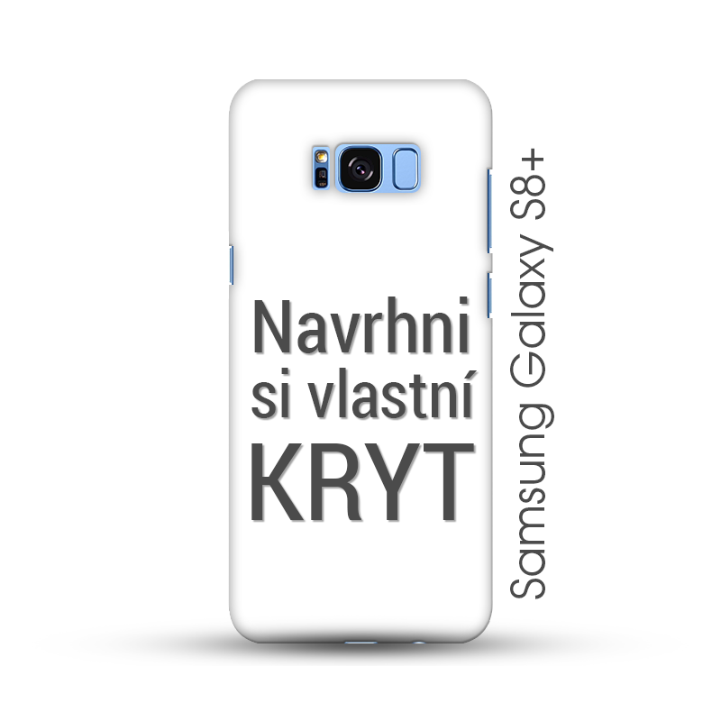 Samsung Galaxy S8 Plus pevný kryt s vlastním motivem
