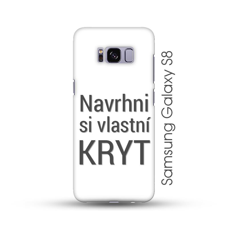 Samsung Galaxy S8 pevný kryt s vlastním motivem